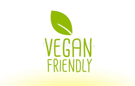 Amykathryns Vegan Friendly Designs by Vegan Friendly Green Leaf Text Concept Logo Icon Design