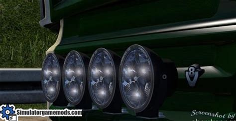 Lu Led 2015 ets 2 all trucks for hella luminator led mod simulator
