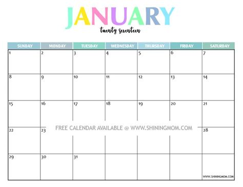 printable calendar mom your free 2017 printable calendar fun and colorful