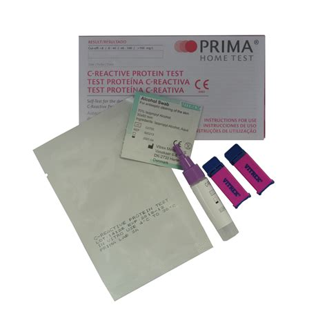 c protein test results prima home c reactive protein crp test home health uk