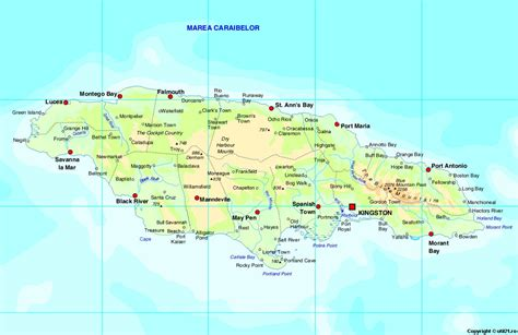 map world jamaica map of jamaica maps worl atlas jamaica map maps
