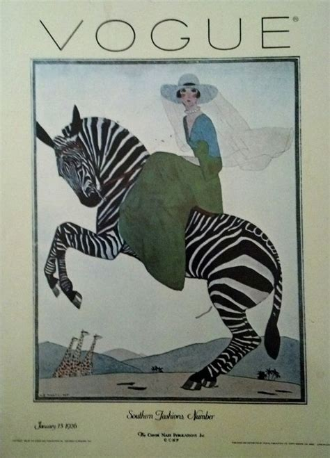 Vintage Poster 50x50cm Motif Kayu 87 vintage vogue zebra print from the 1920 s by