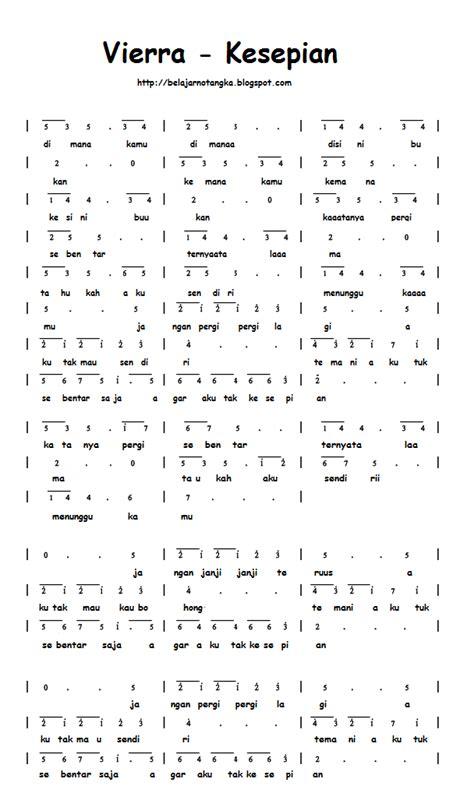 not angka pianika viera seandainya chord lagu vierra kesepian apexwallpapers com