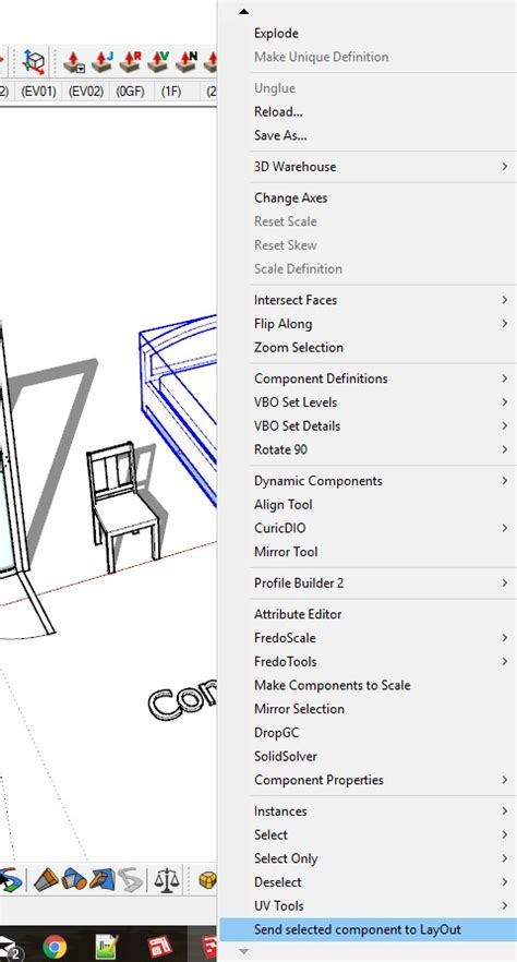 sketchup layout file extension vbo component to layout sketchup extension warehouse