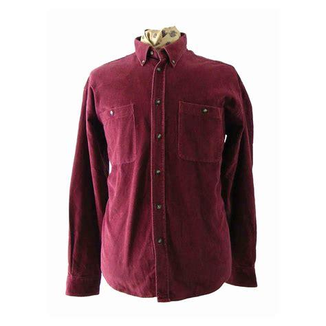 plum colored shirts 90s plum corduroy shirt blue 17 vintage fashion