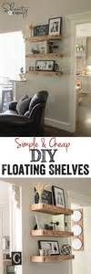 Cheap Living Room Shelves Floating Shelves Kitchen Living Rooms And Sofa Tables On