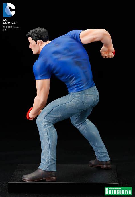 Sale Kotobukiya Sdcc 2016 Exclusive Clark Kent Artfx Statue kotobukiya san diego comic con 2016 exclusive clark kent statue the toyark news