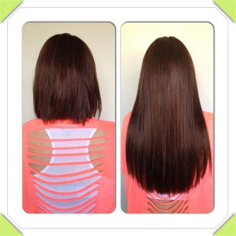 Micro Ring Hair Extensions Aol | before after micro rings hair extensions at www