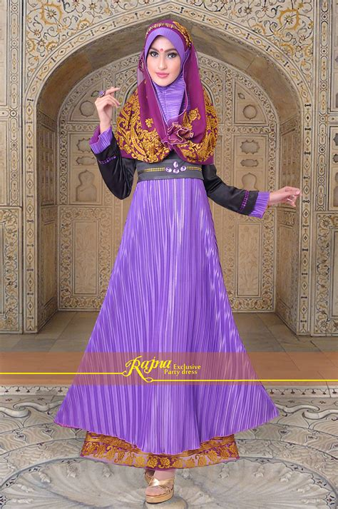 Gamis Pesta Rajna pilihan gamis modern syar i 2014 dress gamis pesta muslim