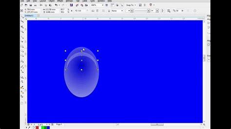 tutorial menggambar di coreldraw x7 tutorial cara membuat efek tetesan air di coreldraw x7