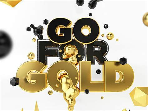 Goes For The Gold by Go For Gold Fonts Inspirations The Design Inspiration