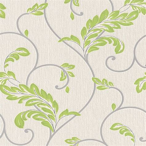 rasch wallpaper rasch savoy leaf textured embossed metallic glitter