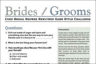 coed bridal shower newlywed