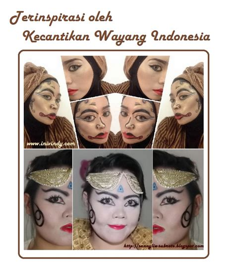 Maskara Transparan Wardah ini vindy yang ajaib makeup ala topeng wayang dan kolaborasi nan epic