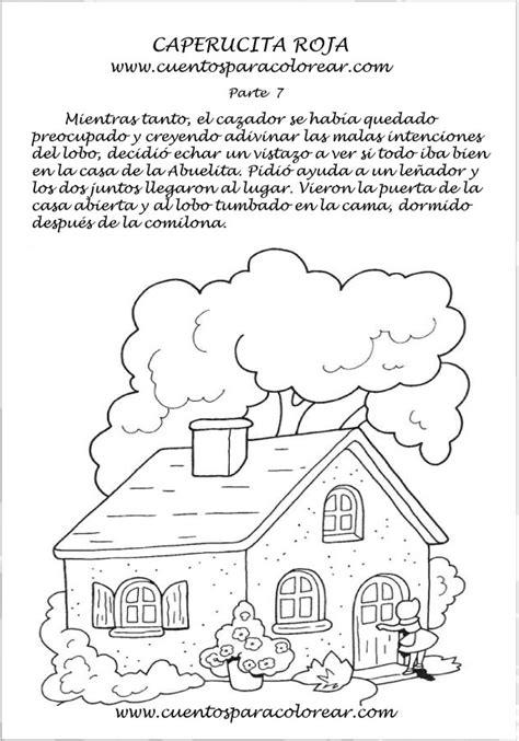 cuentos para nios para imprimir gratis cuento de caperucita roja para colorear