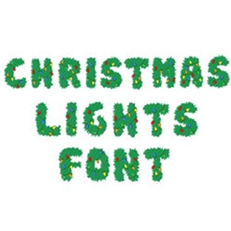 hopscotch styles embroidery fonts christmas lights font 1