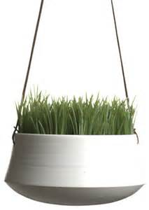 Modern Hanging Planters by Hanging Planter Medium By Ingleside Pottery Modern