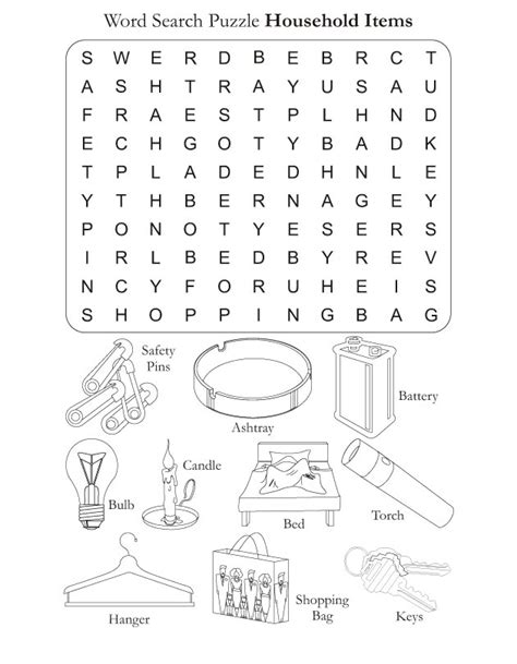coloring pages household objects free coloring pages of with household items and