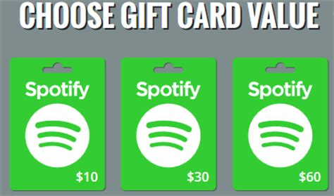 Is There Spotify Gift Cards - organisation a la maison spotify gift card kopen ideal spotify gift card 100 kr ugгґ