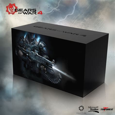 Premium Xbox One S Gear Of Wars 2tb Aif612 triforce xbox one gears of war 4 collector s edition the