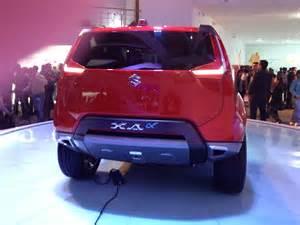Maruti Suzuki Xa Alpha Suv Maruti Suzuki Xa Alpha Concept Previews New Compact Suv