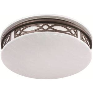 Led Light Fixtures Home Depot Sylvania 3 Light Flush Mount Ceiling Bronze Led Indoor Light Fixture 75256 0 The Home Depot