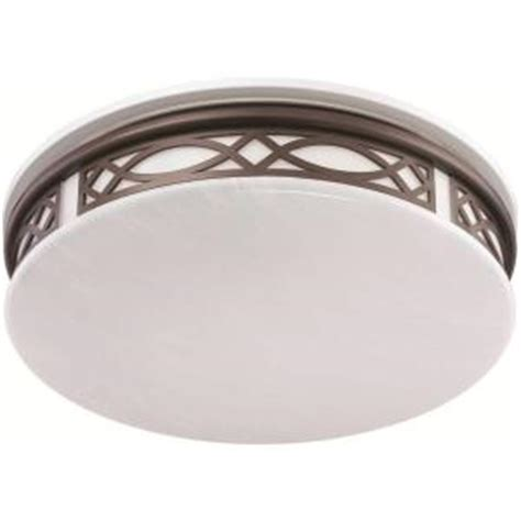 Indoor Lighting Fixtures Home Sylvania 3 Light Flush Mount Ceiling Bronze Led Indoor Light Fixture 75256 0 The Home Depot