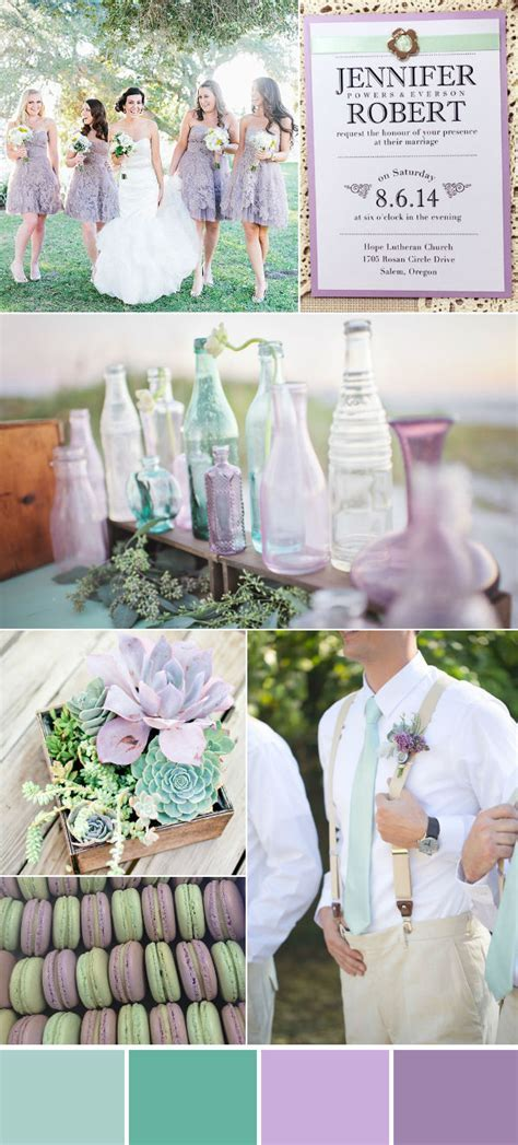 Wonderful Mint Wedding Color Ideas With Elegant Wedding
