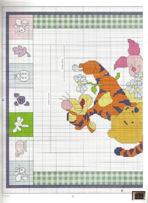 Winnie The Pooh Cross Stitch Birth Record 17 Best Images About Cross Stitch Eeyore And Friends On