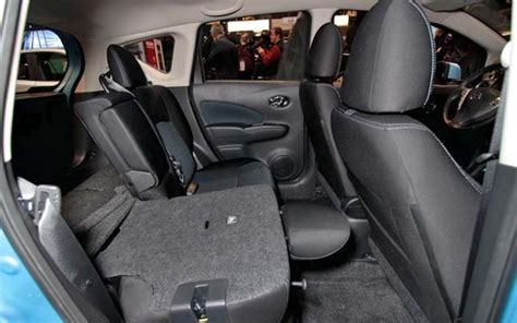 nissan versa note back seat nissan versa note 2014 attractive subcompact new car