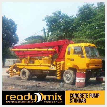 Harga Sewa Pompa Beton harga sewa pompa beton standar pusat rental pompa cor beton