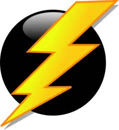 Lightning Bolt Character Lightning Icon Clip At Clker Vector Clip