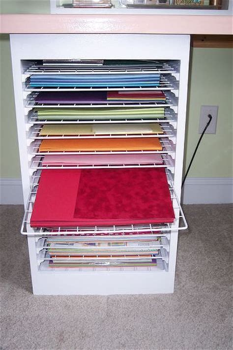 Craft Paper Storage Ideas - 15 best images about paper storage on storage