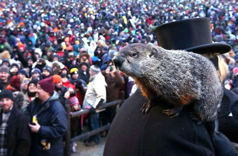 groundhog day hinduism why did the groundhog see his shadow