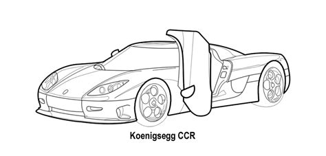 koenigsegg ccx drawing koenigsegg drawing coloring pages