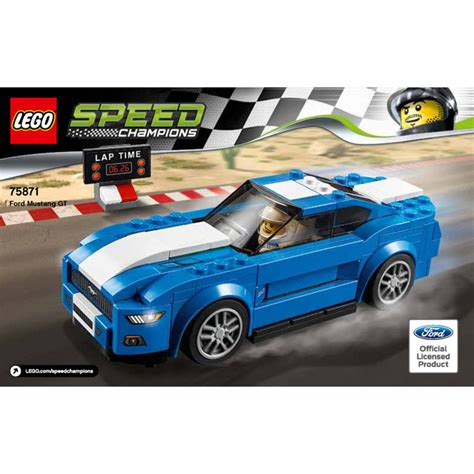 lego ford set lego ford mustang gt set 75871 brick owl