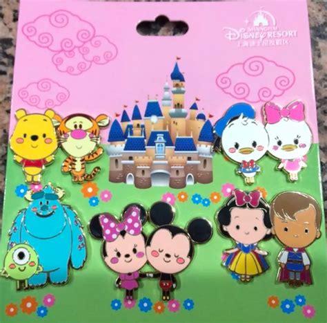 Cutie Set shanghai disney cutie pin set disney pins