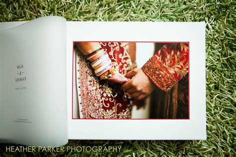 Indian Wedding Photo Book Cover Design by Queensberry Wedding Albums Buckram Covers Boston