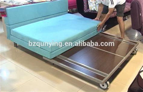 metal frame pull out sofa bed portable metal pull out sofa bed mechanism frame with