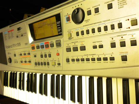 Keyboard Roland Em55 roland em 55 image 233636 audiofanzine