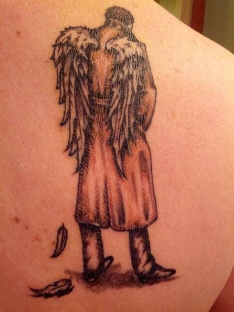 castiel tattoo 50 designs for and shoulders