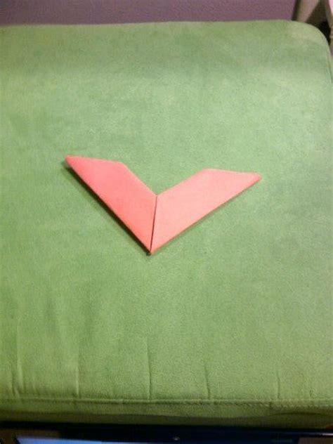 Boomerang Origami - origami boomerang by miyuki kiyoshi on deviantart