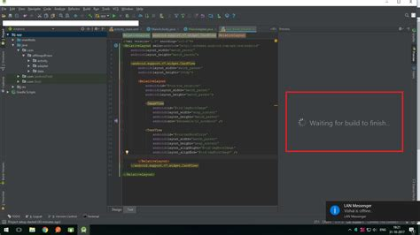 android layout not visible android studio 3 0 xml layout file s preview not showing