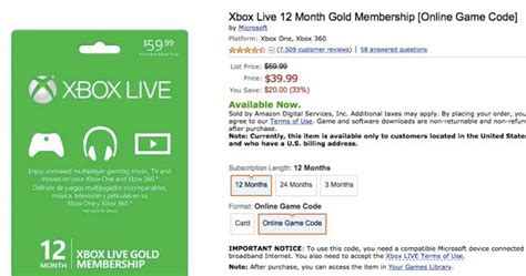 amazon xbox live buy xbox live with amazon gift card xbox live code generator
