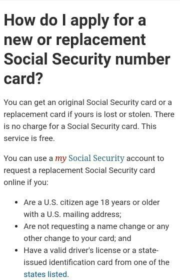 Does Target Require Social Security To Apply For A How To Get My Social Security Number Offline If I Don T
