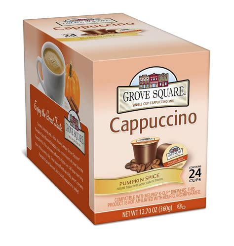 Food Lion Gift Card Kiosk - grove square pumpkin spice cappuccino k cups 0 45 ct