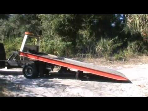 rollback bed for sale f450 rollback chevron aluminum bed operation youtube