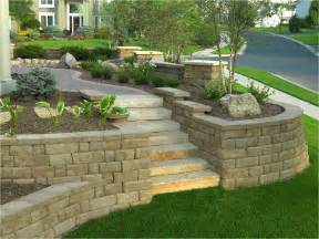 landscape retaining wall blocks home design