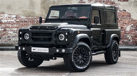 land rover kahn price kahn land rover defender chelsea wide track edition