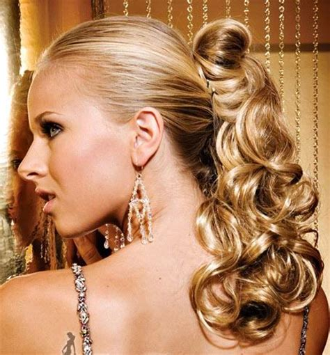 Curly Ponytail Hairstyles by Ponytail Hairstyles 2010 Curly Ponytail Hairstyles For